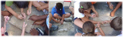 Rocks and Minerals Excavation kits can be made to be either a group activity or an individual activity.